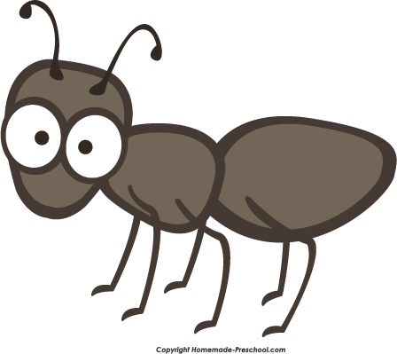 Ant free picnic clipart.