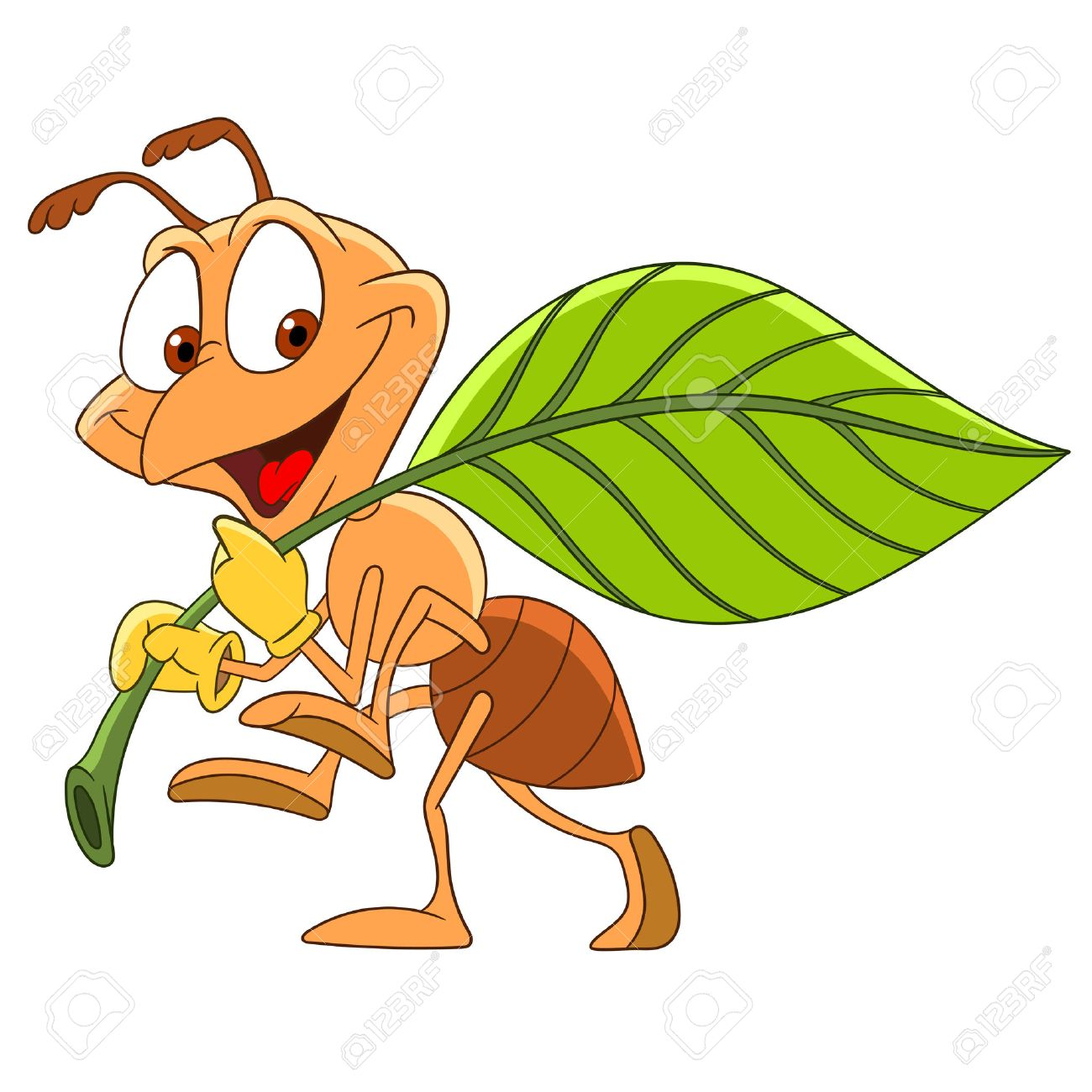 Hard Working Ant Clipart.
