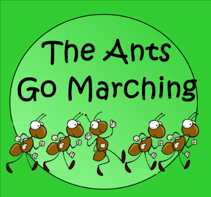 The Big Ants Go Marching Notebook lesson.