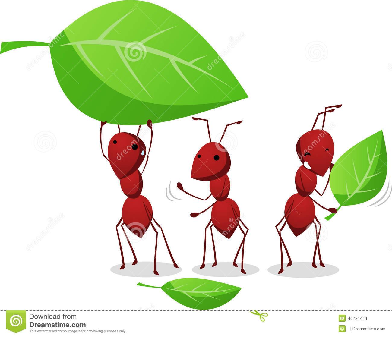 Ant Colony Stock Illustrations.