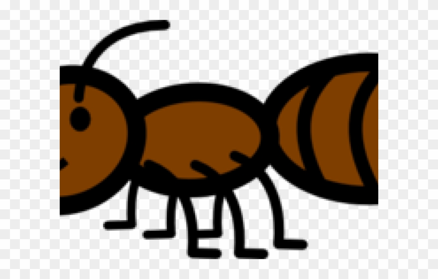 Ants Clipart Brown Ant.