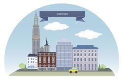 Antwerp Stock Illustrations.