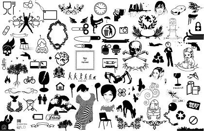 Free Black And White Clipart.