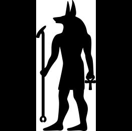 Anubis Silhouette FREE SVG Egyptian.