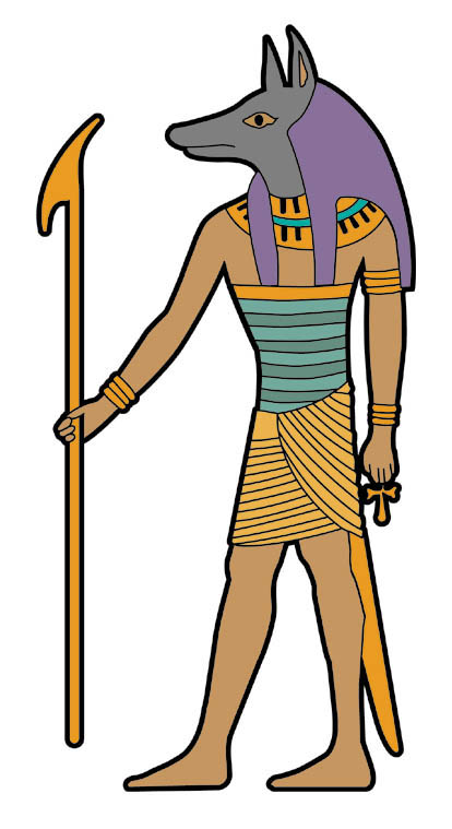 History for Children: FREE FRIDAY — Anubis Clip Art —.