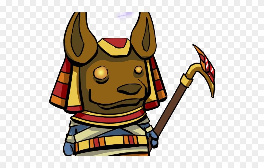 Anubis Clipart Adorable.