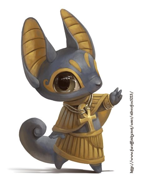 Sorry for the lack of artwork lately, here\'s an Anubis to.