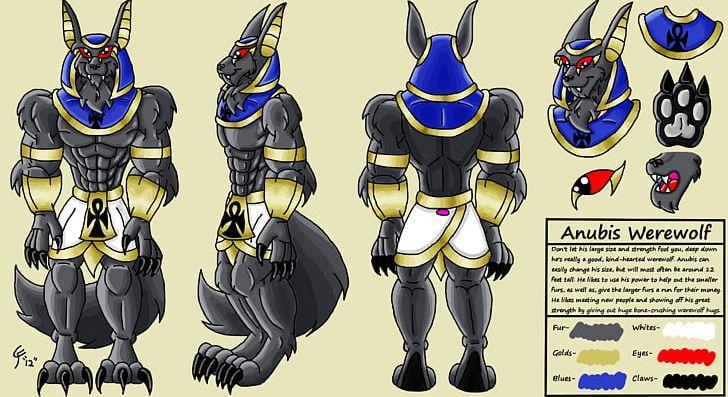 Anubis Werewolf Muscle Ankh PNG, Clipart, Ankh, Anubis.