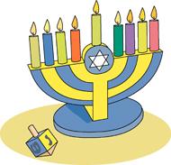 Free Hanukkah Clipart.