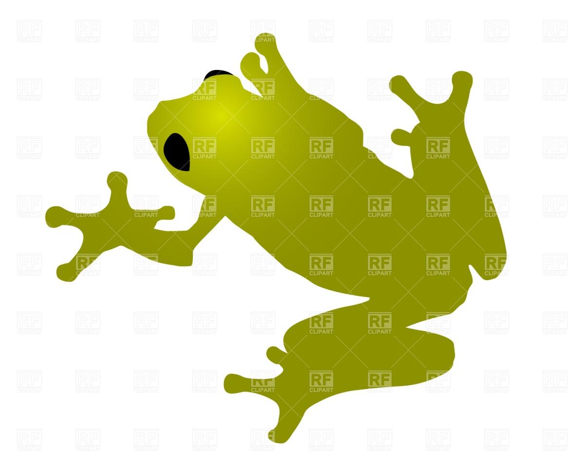 Green Frog Vector Image #333.