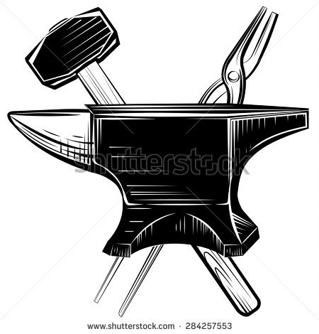 Anvil Stock Photos, Royalty.
