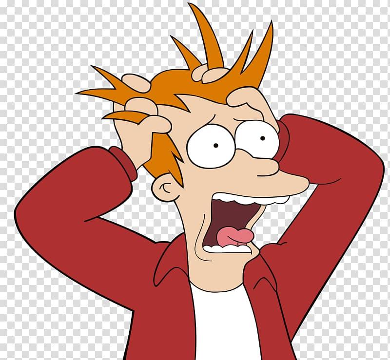 Cartoon character illustration, Panic attack Panic disorder.