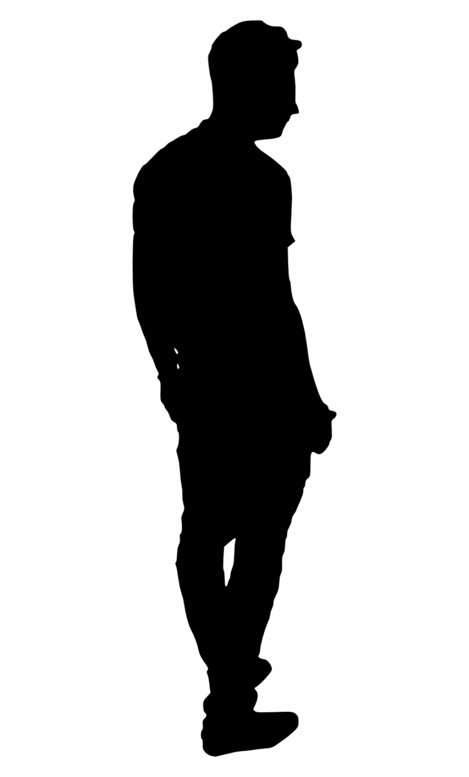 Erika Mustermann Silhouette Anonymity Anonymous Business.