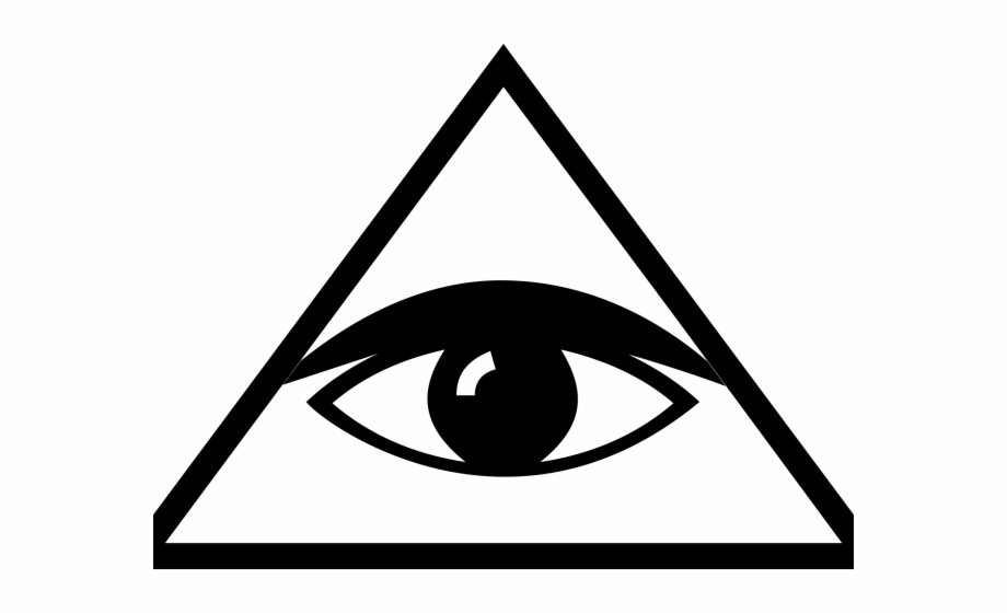 Eye Patch Clipart Triangle Eye Dont Trust Anyone.