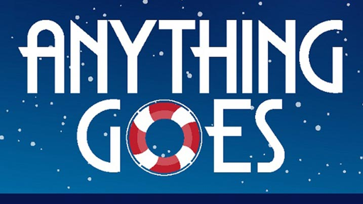 All Dates for Anything Goes docks at Milburn Stone Theatre.