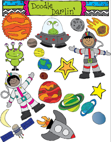 Out Of This World Clipart.
