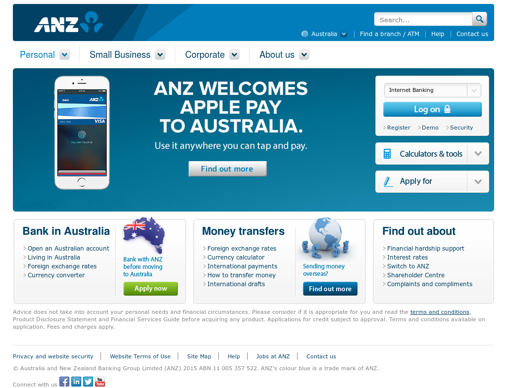 ANZ Competitors, Revenue and Employees.