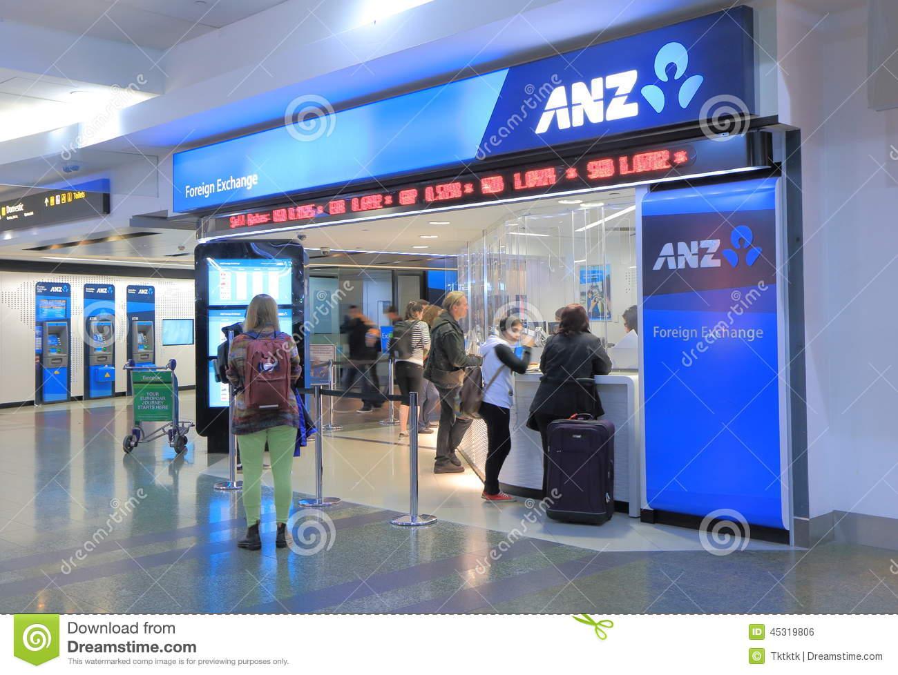 ANZ Bank Australia editorial photo. Image of financial.