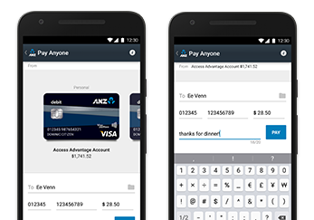 Access great banking & payment features with ANZ goMoney®.