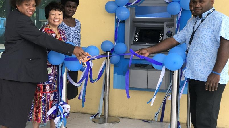 ANZ launches new ATM in Kokopo.
