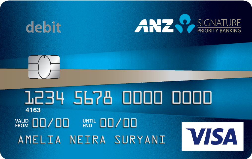 Anz Bank Card.