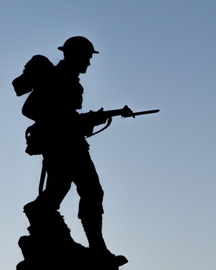 Anzac Soldier Clipart.