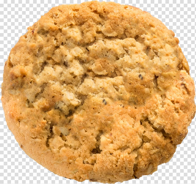 Peanut butter cookie Chocolate chip cookie Anzac biscuit.