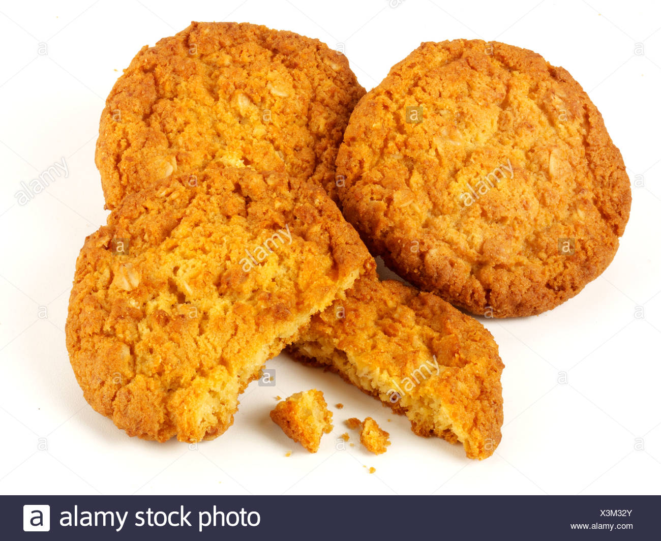 ANZAC BISCUITS Stock Photo: 277651331.