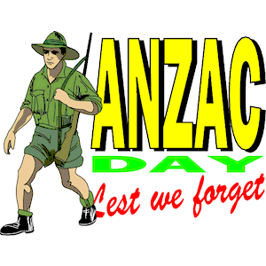 Anzac Day clipart, cliparts of Anzac Day free download (wmf, eps.