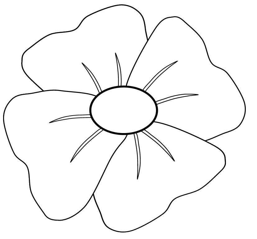 Anzac Day Poppy Clipart.