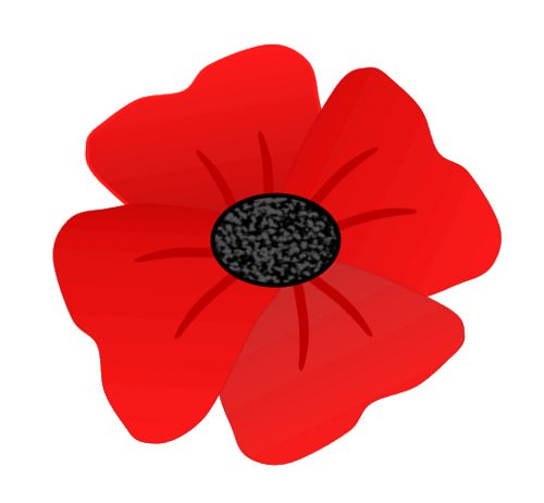 Anzac Day Poppies Clipart.
