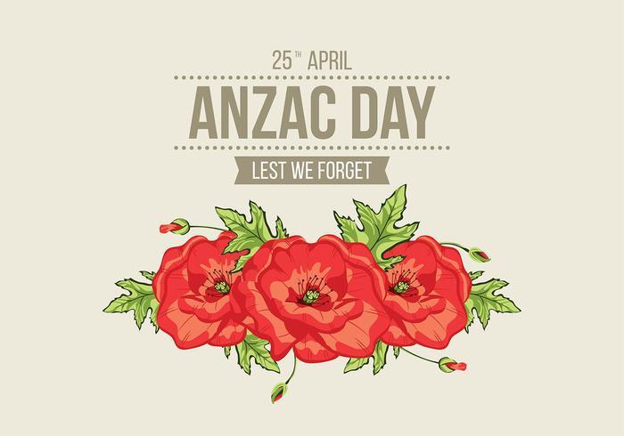 Anzac Day Vector.
