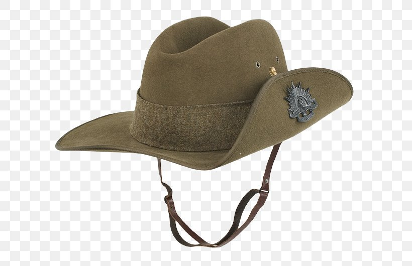 Hat Australia Portrait First World War Anzac Day, PNG.