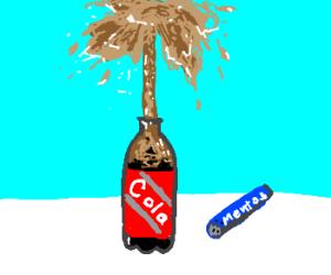 Exploding Soda Clipart.