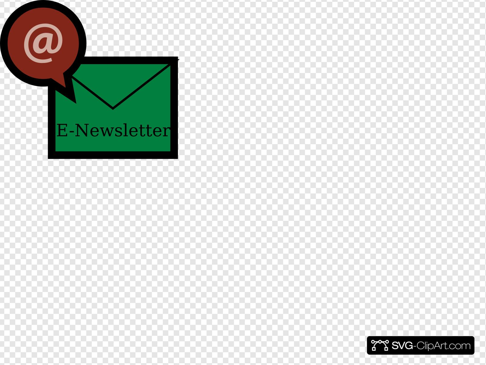 Newsletter Clip art, Icon and SVG.
