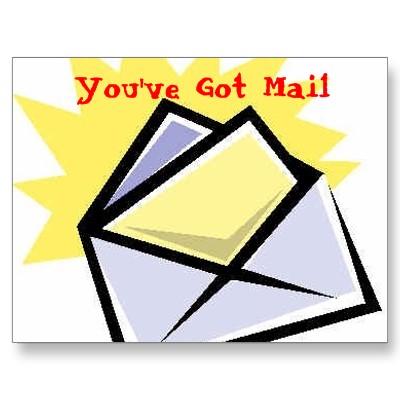 Aol Youve Got Mail Clipart.