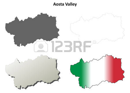79 Aosta Map Stock Vector Illustration And Royalty Free Aosta Map.