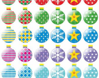Ornaments clipart.