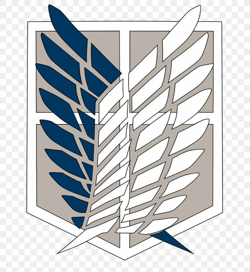 A.O.T.: Wings Of Freedom Attack On Titan Logo Eren Yeager.