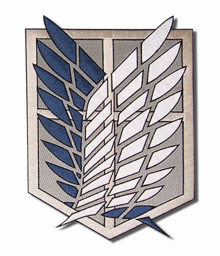 March Of Giant Attack On Titan Survey Corps Coat Of Arms Patch (Emblem)  Aboutf/S.
