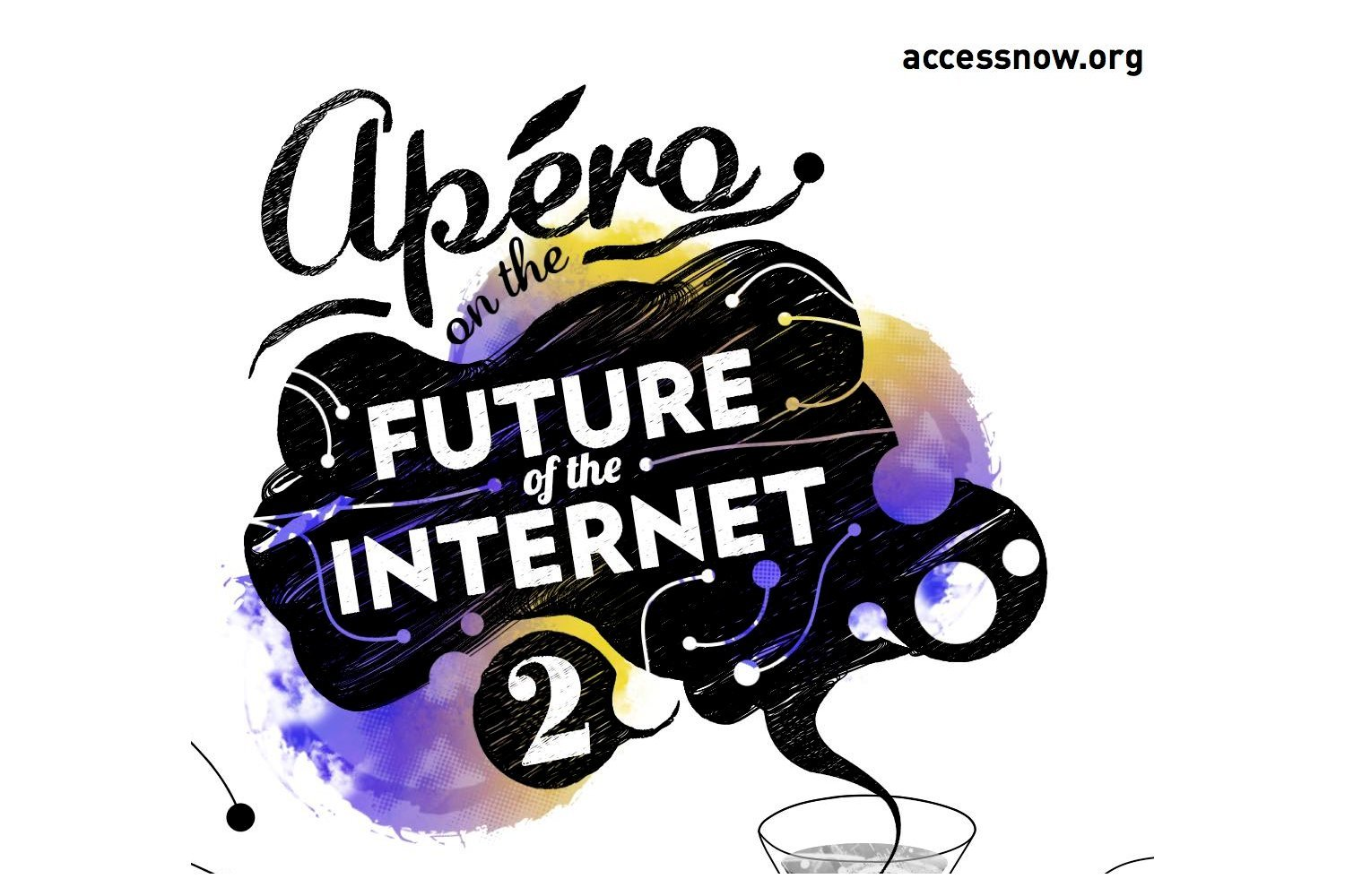 Access Now holds apéro on the Future of the Internet.