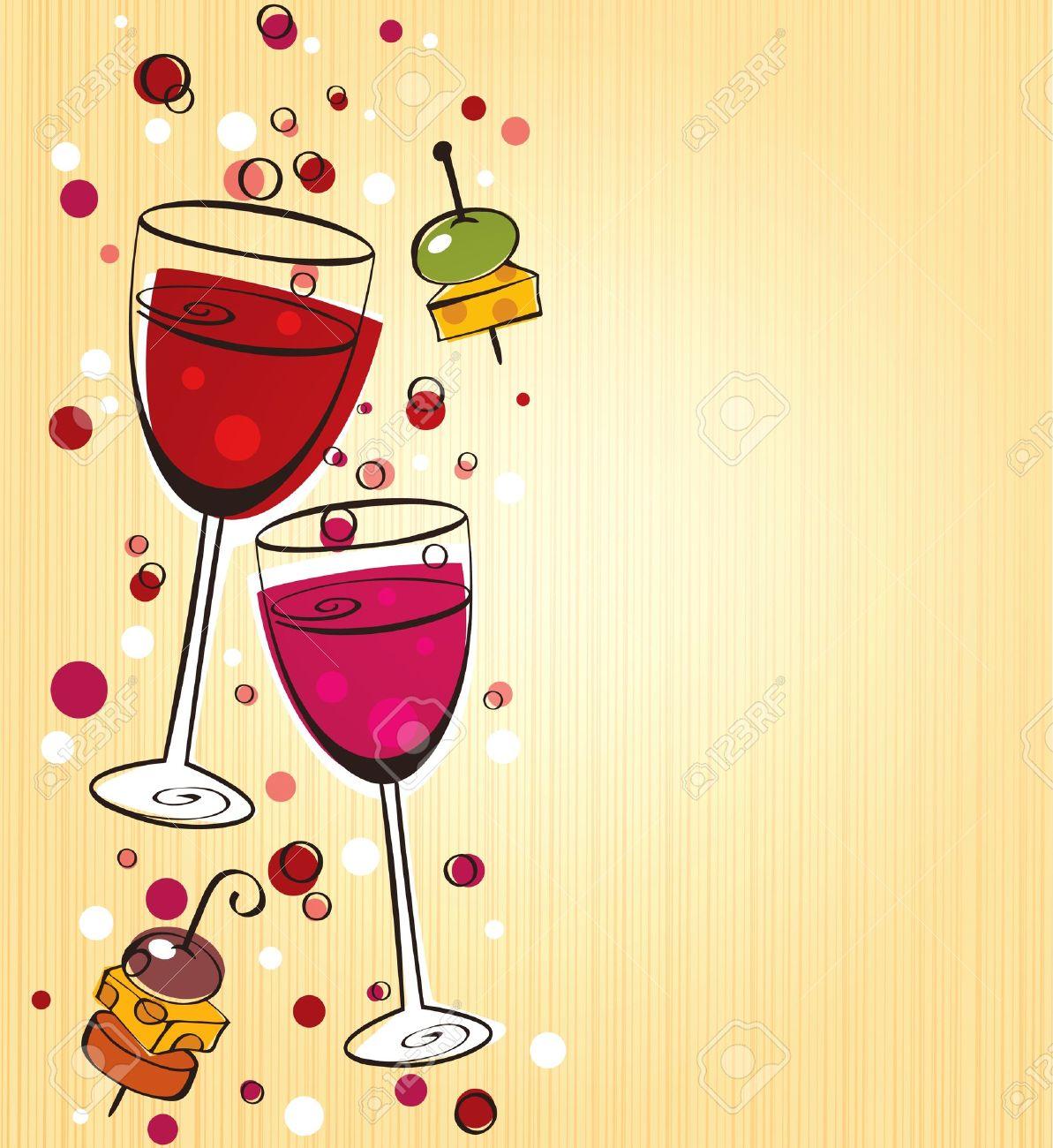 Images clipart aperitif.