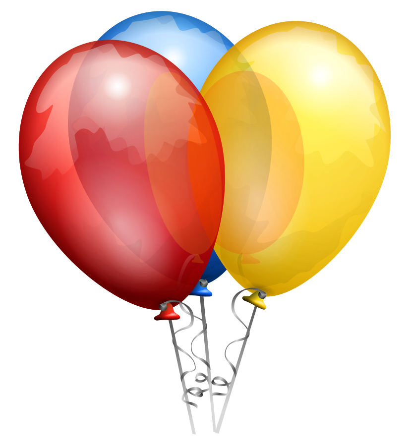 Party Balloons SVG Vector file, vector clip art svg file.