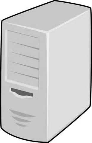 Ppt Computer Server Clipart.