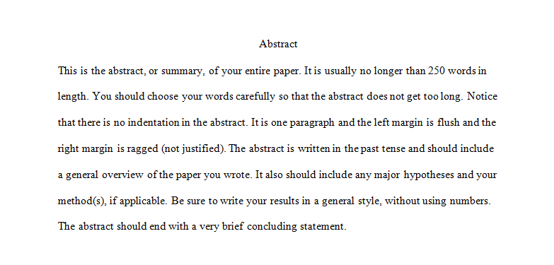Abstracts and Appendices.