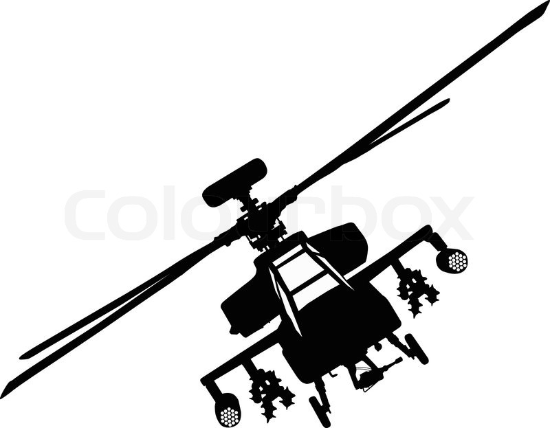 Apache helicopter.