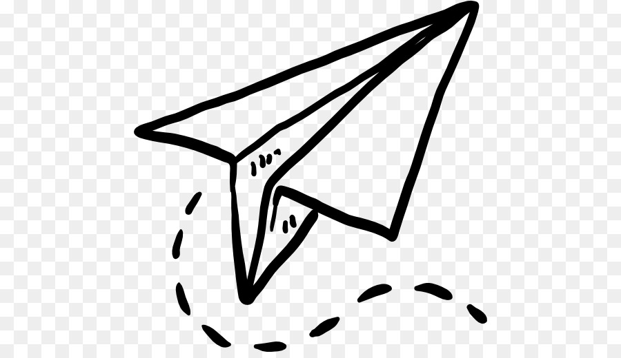 Paper Airplane png download.