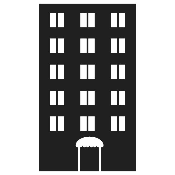Apartment Building Clipart Black And White Complex China Cps.