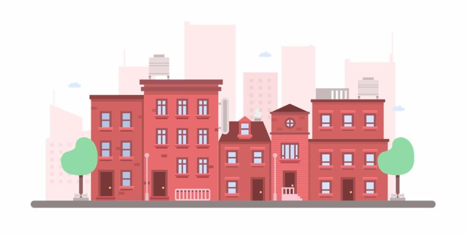 Apartment Building Clip Art.