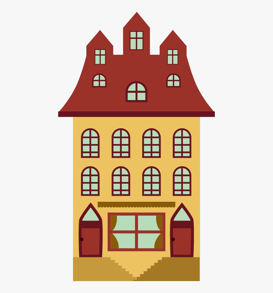Vector Apartment Building Design.